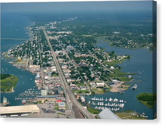 Morehead City Canvas Print