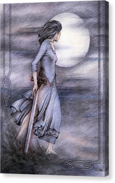 Morgan Le Fay Canvas Print