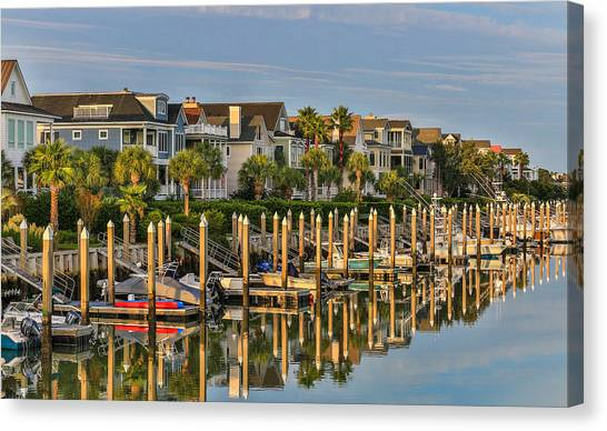 Morgan Place Homes In Wild Dunes Resort Canvas Print