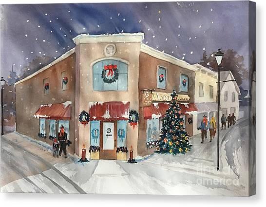 Morkes Christmas 2017 Canvas Print