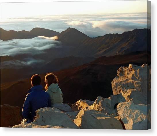 Morning At Haleakala  Canvas Print by JAMART Photography