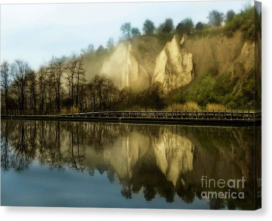 Morning At The Bluffs Canvas Print