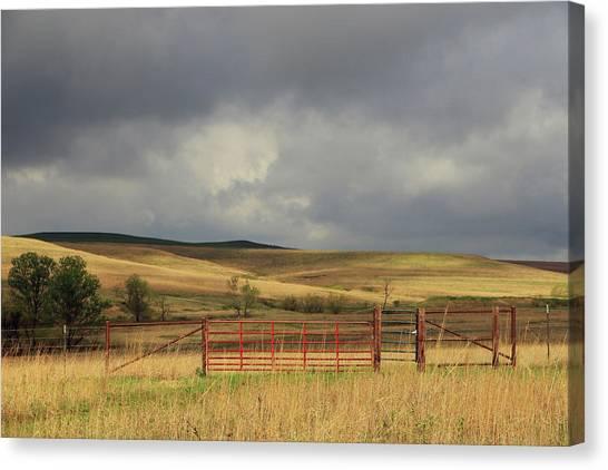 Morning At The Tallgrass Prairie Canvas Print