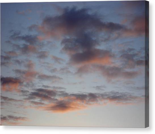 Morning Clouds Canvas Print by Marilynne Bull