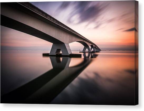 Early Canvas Print - Morning Colors by Sus Bogaerts