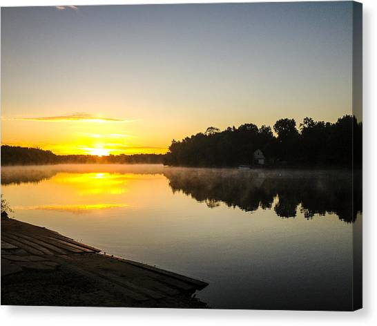 Minnesota Canvas Print - Morning by David Hernandez