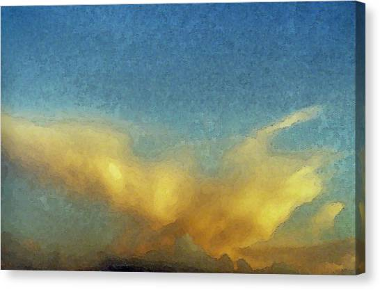 Morning Dove Canvas Print