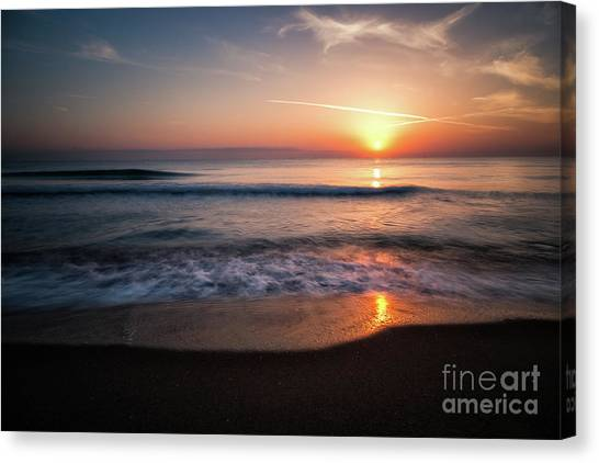 Morning Fire Canvas Print