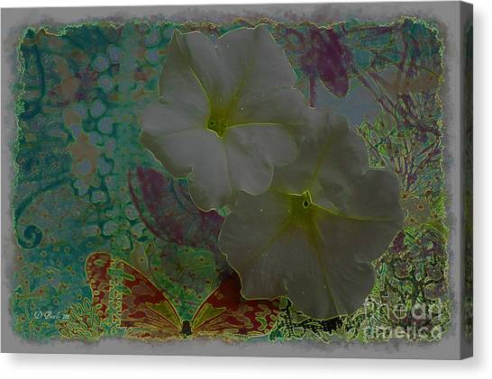 Morning Glory Fantasy Canvas Print