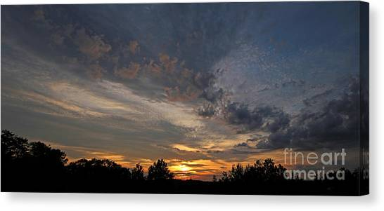 Jft Canvas Print - Morning Gold by James F Towne