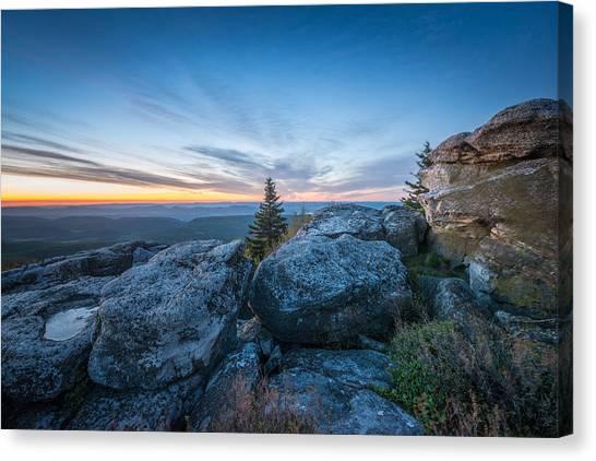 Monongahela National Forest Wilderness Morning Light Canvas Print