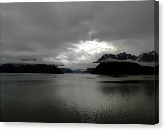 Morning In Alaska Canvas Print