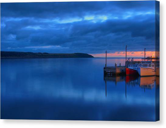 Cabot Trail Canvas Print - Morning In Cape Breton by Joe  Ng