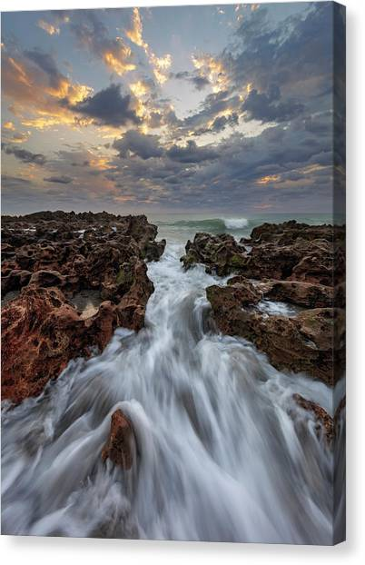 Jupiter Canvas Print - Morning In Motion by Mike Lang