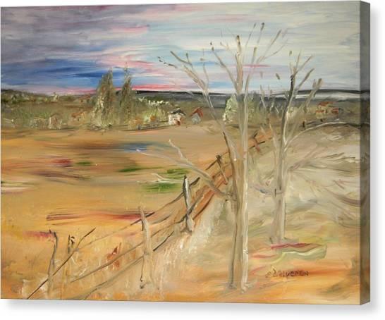 Morning Light Canvas Print by Edward Wolverton