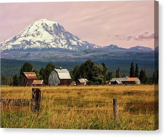 Morning Light On Mount Adams Canvas Print
