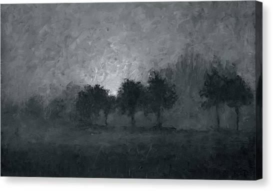 Morning Mist 3 Canvas Print