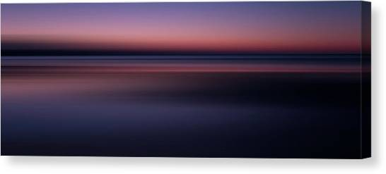 Beach Sunrises Canvas Print - Morning Mood by Sean Foster