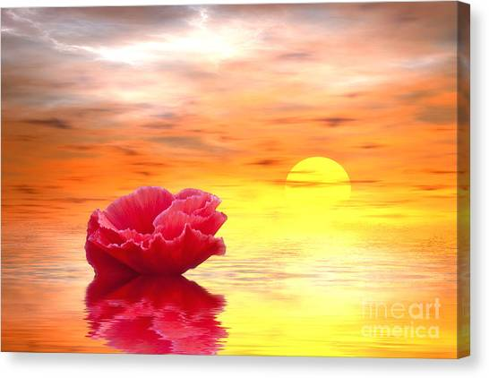 Painterly Canvas Print - Morning Of Your Dreams by Veikko Suikkanen