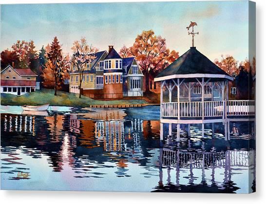 Morning On Silver Lake Canvas Print