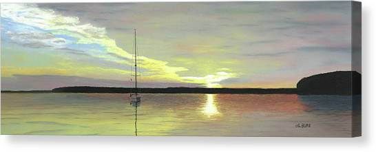Morning On The Bay Canvas Print