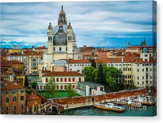 Morning Over Venice Canvas Print by Ken Andersen