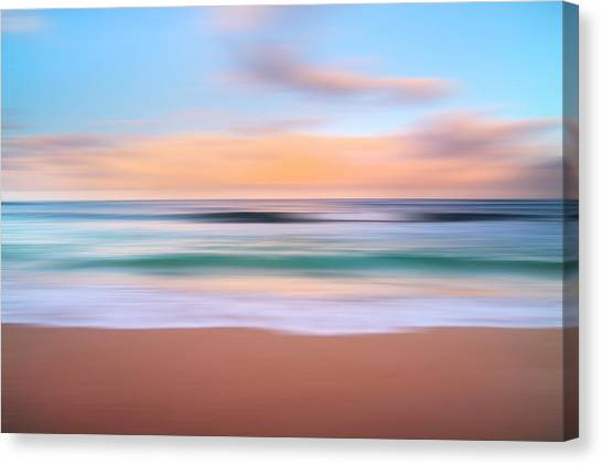 Sublime Canvas Print - Morning Pastels by Sean Davey