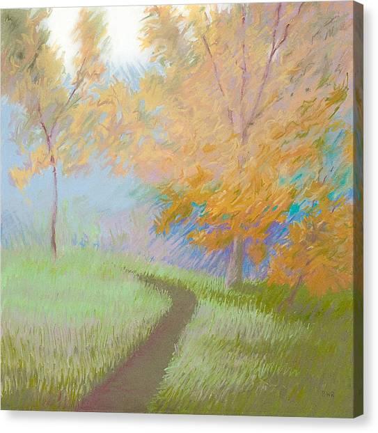 Morning Path 2 Canvas Print by Bruce Richardson