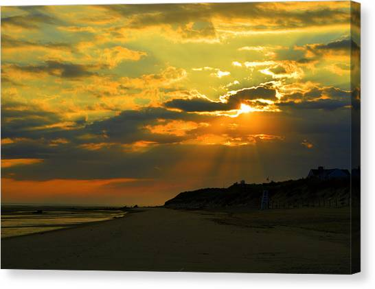 Morning Rays Over Cape Cod Canvas Print