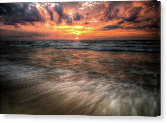 Morning Rush Canvas Print