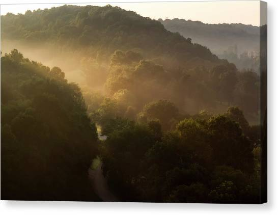 Morning Rushes In Canvas Print