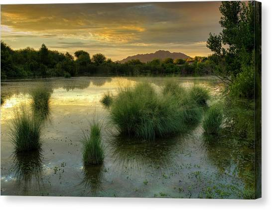 Morning Serenity Canvas Print