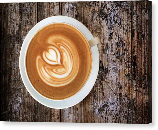 Coffee Canvas Print - Morning Start by Andrew Soundarajan