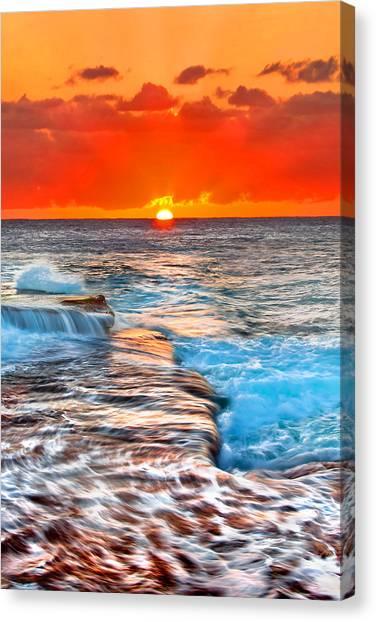 Oz Canvas Print - Sun Kisses by Az Jackson
