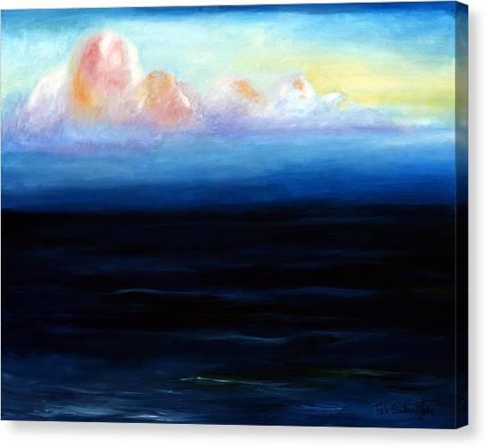 Morning Canvas Print by Tak Salmastyan