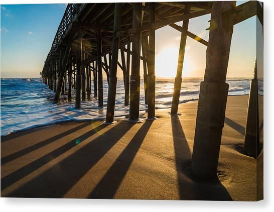Flagler Beach Canvas Print - Morning Views by Kristopher Schoenleber