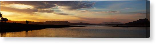 Morning's Colors Panorama Canvas Print by Richard Stephen