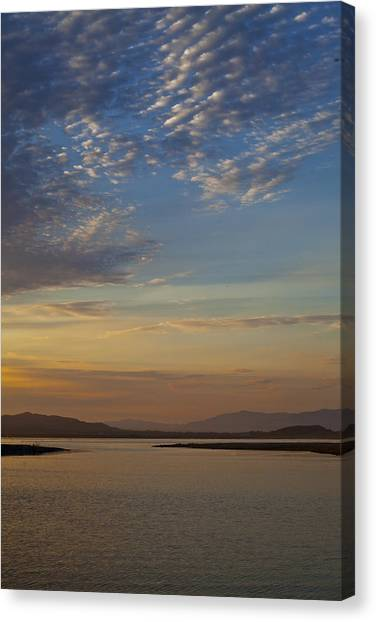 Morning's Colors Canvas Print by Richard Stephen