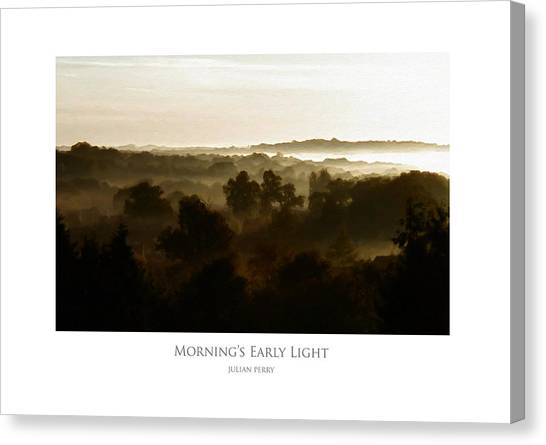 Morning's Early Light Canvas Print