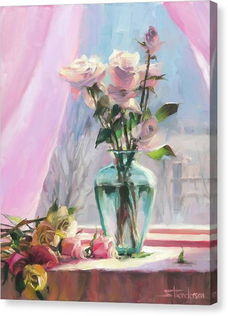 Bush Canvas Print - Morning's Glory by Steve Henderson