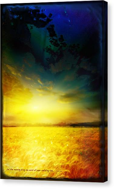 Morning's Promise Canvas Print