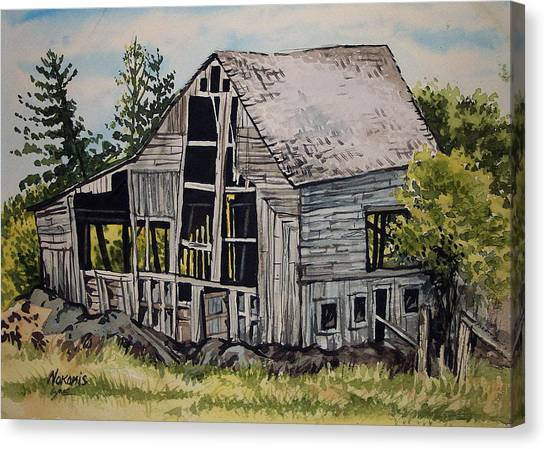 Morristown Barn Ny Canvas Print