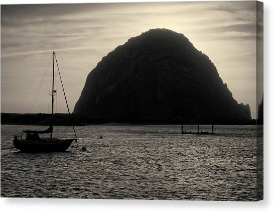 Morro Bay I Toned Canvas Print