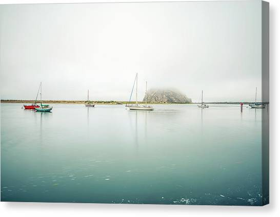 Morro Calm #2 Canvas Print by Joseph S Giacalone