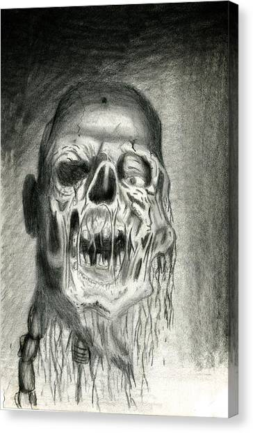 Morts Vivants Canvas Print