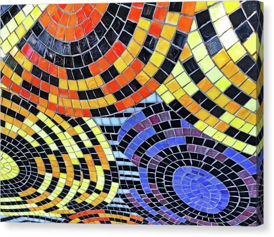 Mosaic No. 113-1 Canvas Print