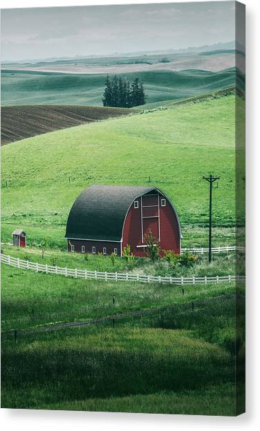 Moscow Barn Canvas Print by Vincent James