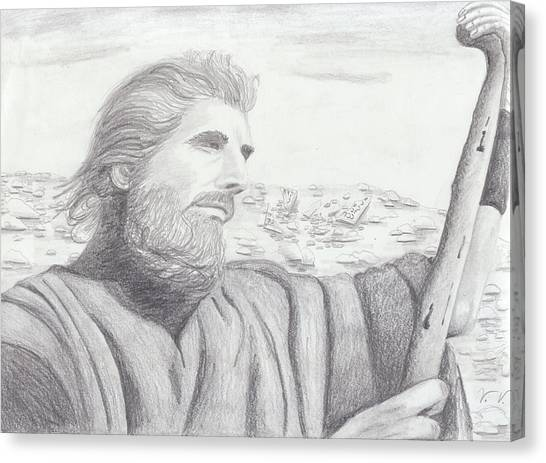 Moses Canvas Print