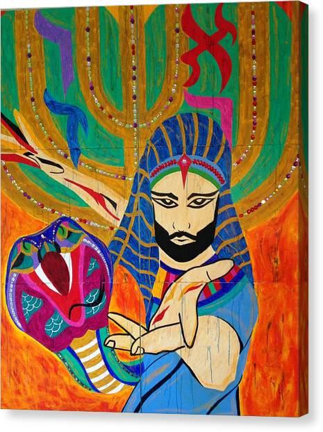 Moshe Rabbeinu Canvas Print