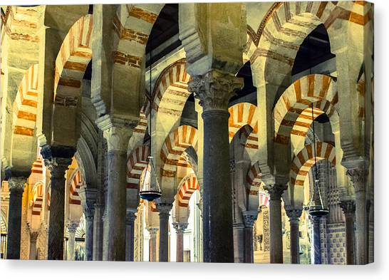 Mosque Cathedral Of Cordoba 2 Canvas Print